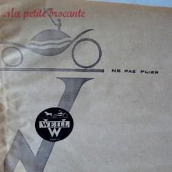 Ancien sachet publicitaire Weill Paris
