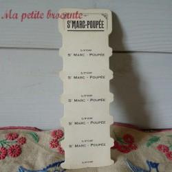 Belle carte à fil St Marc Poupée Lyon sans fil