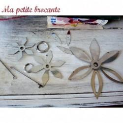 L'étoile brodeuse Luxe Breveté SGDG broderies de fleurs