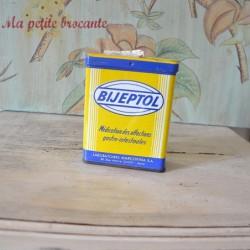 Boîte pharmaceutique ancienne Bijeptol laboratoires Marcofina SA