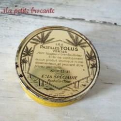 Belle boîte pastilles Tolus vertes Lotus sous scellé