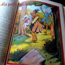 Le dernier des Mohicans illustrations E. Le Rallic