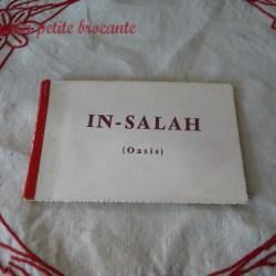 Carnet de 10 cartes postales In-Salah Oasis