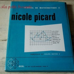 Journal de mathématique II cours moyen 2 Nicole Picard