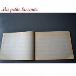 Cahier d'écolier ancien musique N° 561