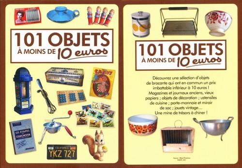 101 objets à moins de 10 euros - couvertures du livre
