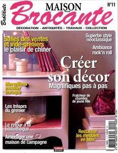 Maison revue brocante Septembre octobre 2012 - Retrouvez ma petite brocante !