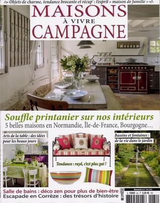 Maison à vivre Campagne Avril Mai 2016