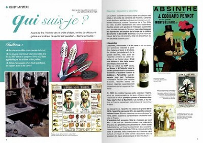 L'objet mystère la cuillère à absinthe dans antiquites pratique 12
